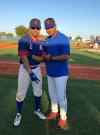 Sergio Chil and Yunieski Gurriel